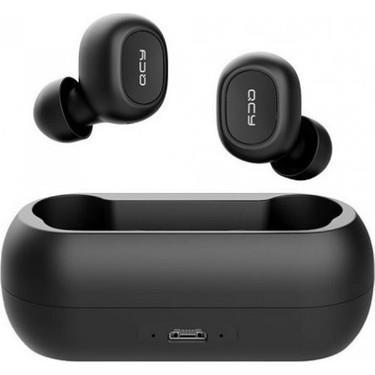 Xiaomi - QCY T1C Bluetooth Çift Mikrofonlu Şarj Edilebilir Kulak İçi Kulaklık