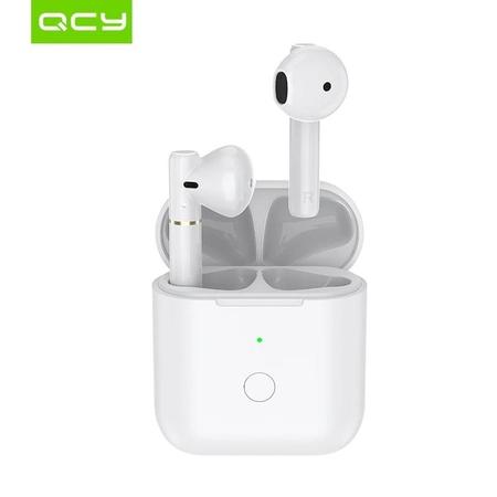 QCY - QCY T8 Bluetooth Kablosuz Kulaklık - Beyaz