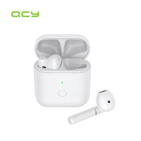 QCY - QCY T8S Bluetooth Kablosuz Kulaklık - Beyaz