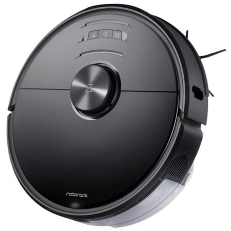Roborock - Roborock S6 MaxV Vacuum Cleaner Robot Süpürge ve Paspas - Siyah