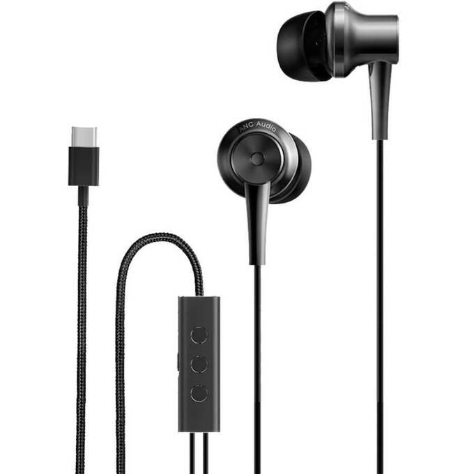 Xiaomi ANC & Type C Gürültü Önleyici Kulakiçi Type C Kulaklık Siyah