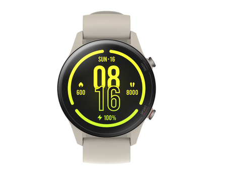Xiaomi Mi Watch Akıllı Saat - Siyah - Thumbnail